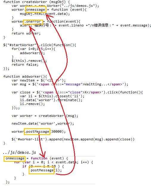 html5 worker